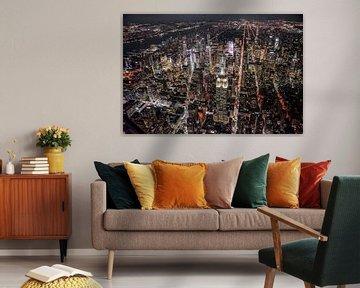 New York van bovenaf van Stefan Schäfer