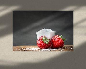 food aardbeien van Kristof Ven