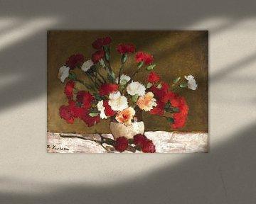 STEFAN AIRCHIAN, Nelken - 1906-1908 von Atelier Liesjes