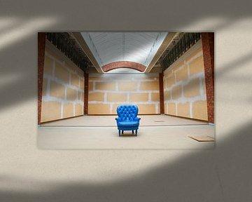Der blaue Stuhl von Manon Kleijn