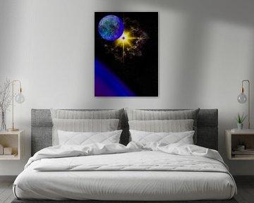 Vision nocturne d'une supernova sur Keep Magic