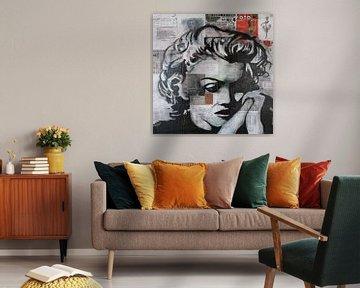 Marilyn Monroe Erinnerung von Kathleen Artist Fine Art