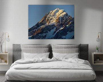 Sonnenuntergang am Mount Cook von Keith Wilson Photography