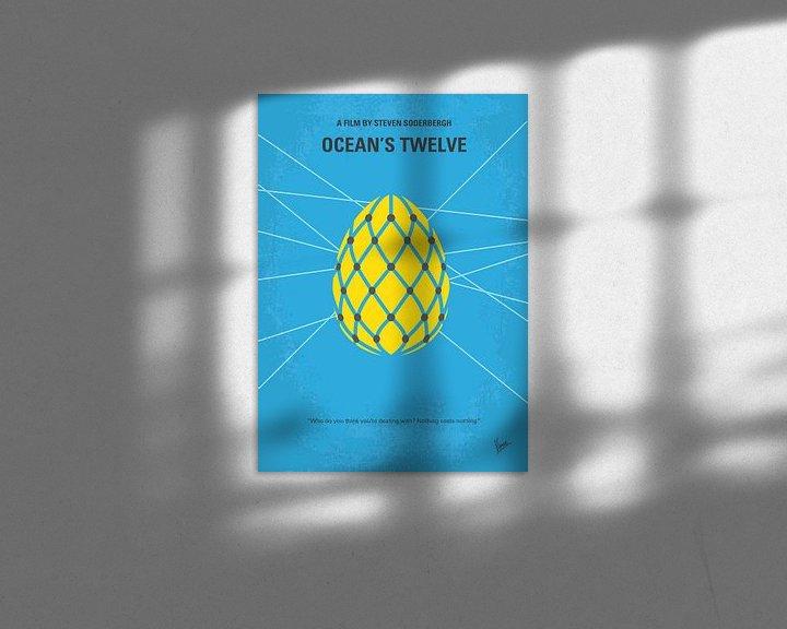 Sfeerimpressie: No057 My Oceans 12 minimal movie poster van Chungkong Art