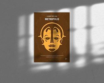 No052 My Metropolis minimal movie poster van Chungkong Art