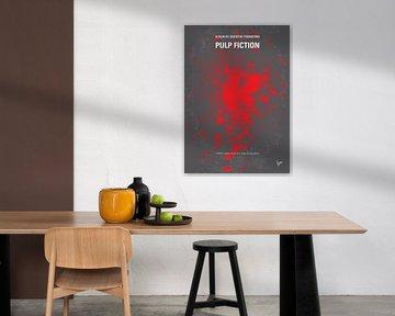No067 My Pulp Fiction minimal movie poster van Chungkong Art