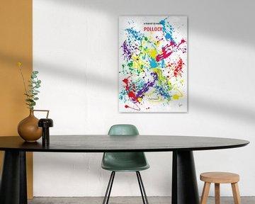 No065 My Pollock minimal movie poster van Chungkong Art