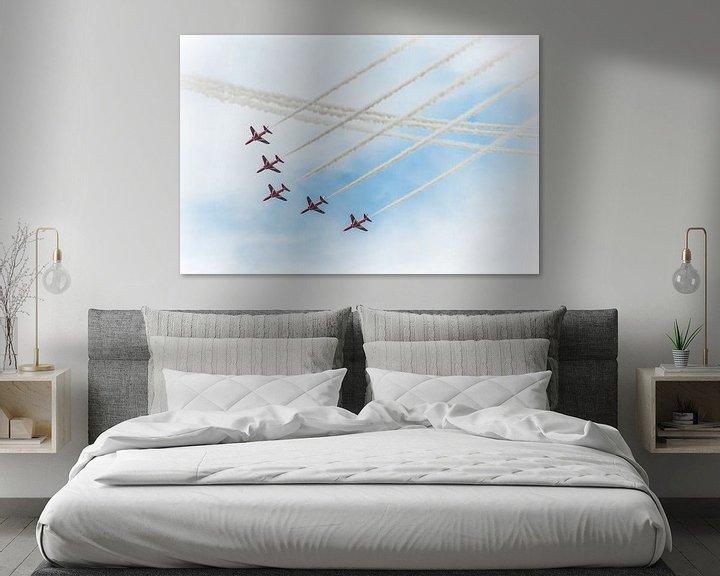 Sfeerimpressie: Red Arrows vliegshow van Wim Slootweg