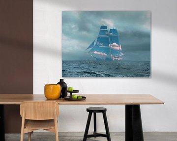 Das Segelboot von Catherine Fortin