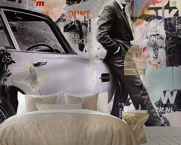 Sfeerimpressie behang: Licensed troubleshooter van Michiel Folkers