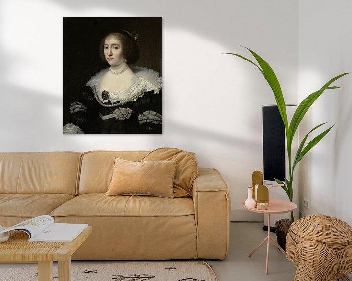 Beispiel: Amalia van Solms - Michiel Jansz. van Mierevelt