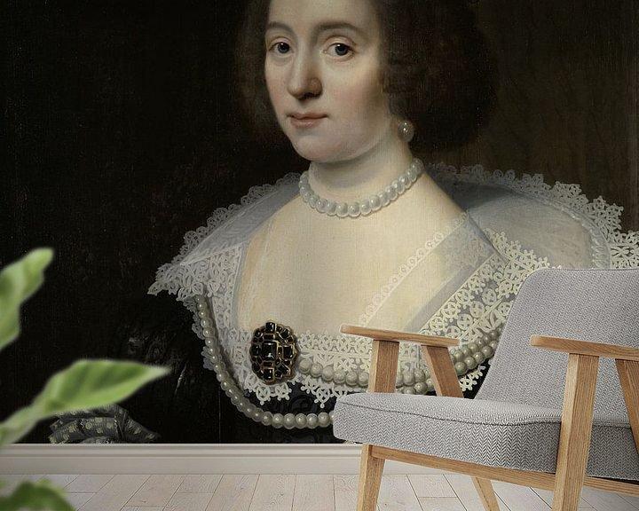 Beispiel fototapete: Amalia van Solms - Michiel Jansz. van Mierevelt