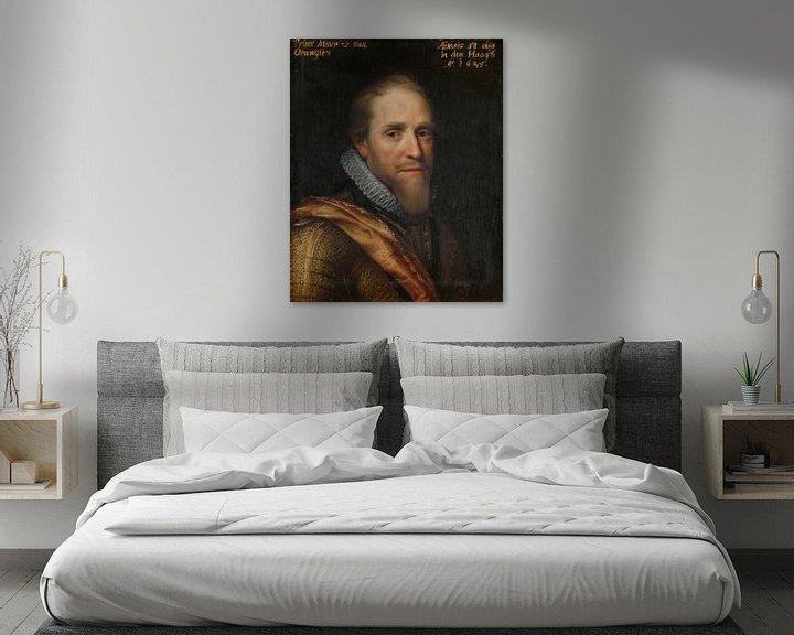 Beispiel: Maurice, Prinz von Oranien, Michiel Jansz. van Mierevelt