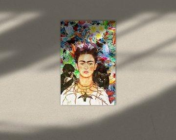 Frida Kahlo-Porträt von Giovani Zanolino