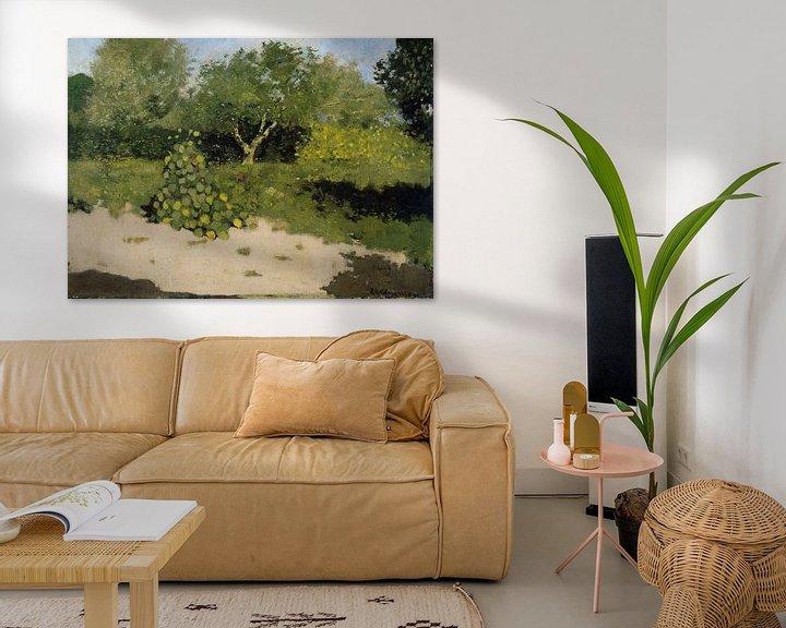 Beispiel: Gartenecke mit ostindischer Kirsche, Richard Nicolaüs Roland Holst