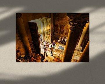 Heiliges Grab Jesu in Jerusalem, Israel von Sjouke Hietkamp