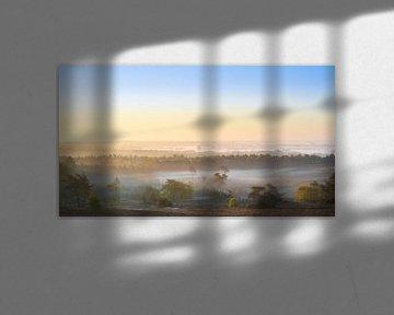 Zonsopkomst met mist van zeilstrafotografie.nl