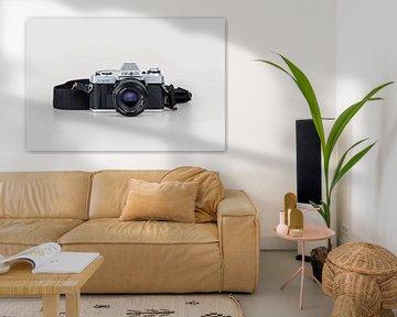 Analoge alte Minolta-Kamera von Sjouke Hietkamp