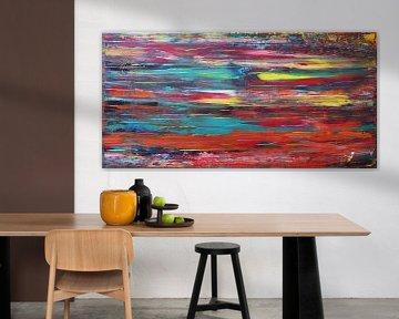 Regenboog Dagdroom van Kathleen Artist Fine Art