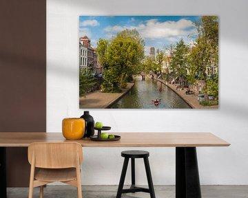 kajakken op de oude gracht van zeilstrafotografie.nl