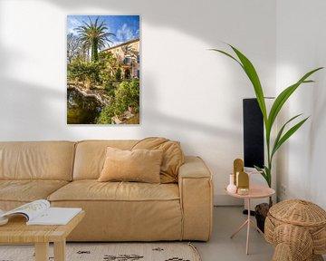 Garten und Herrenhaus Son Marroig, Mallorca von Christian Müringer