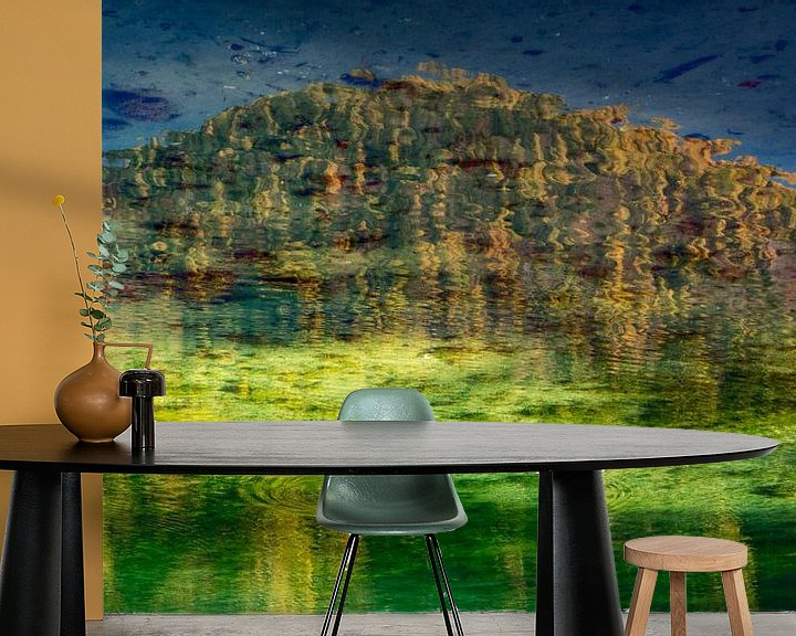 Sfeerimpressie behang: Mountain van Sylvia Duits-Hofland