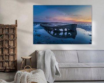 Wierum, Friesland (Boot) von Edwin Kooren