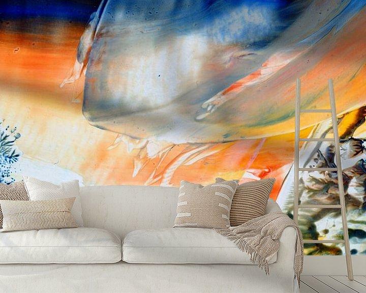 Sfeerimpressie behang: Mindful Colors 39 van Terra- Creative