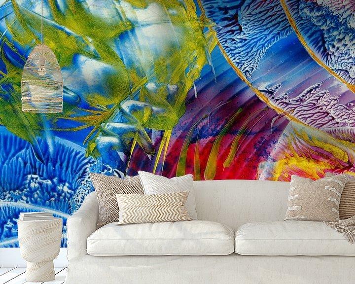 Sfeerimpressie behang: Mindful Colors 42 van Terra- Creative