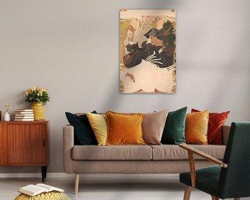 """Plakat (Affiche) für """"Journal des Ventes"""", Georges de Feure"""