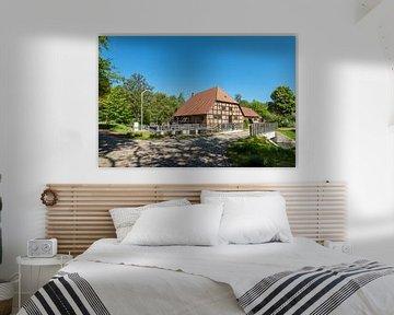 Die historische Wassermühle in Kuchelmiß von Rico Ködder