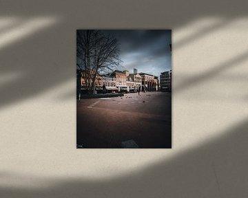 nur ein paar Leute auf dem belebtesten Platz der Stadt von Sabine Brederode Photography