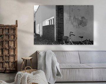 B&W Ruine in Sittard von Ann Barrois