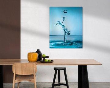 Water drops #4 van Marije Rademaker