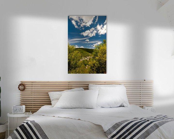 Sfeerimpressie: Frans bergdorpje van Wim Slootweg
