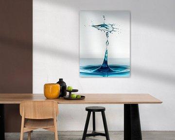 Water drops #9 van Marije Rademaker