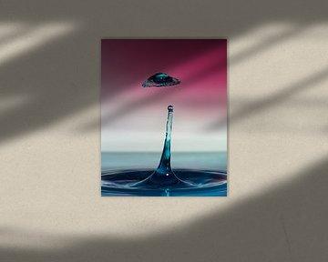 Water drops #2 van Marije Rademaker