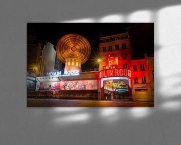 Moulin Rouge Parijs 2 van Dennis van de Water