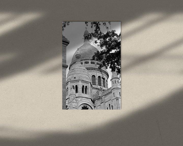 Sfeerimpressie: la basilique du Sacré-Coeur de Montmartre van Wim Slootweg