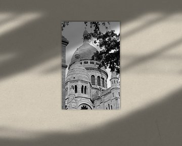Basilika von Sacré-Coeur de Montmartre von Wim Slootweg