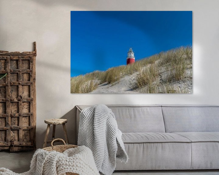 Sfeerimpressie: Vuurtoren Texel overdag van Texel360Fotografie Richard Heerschap