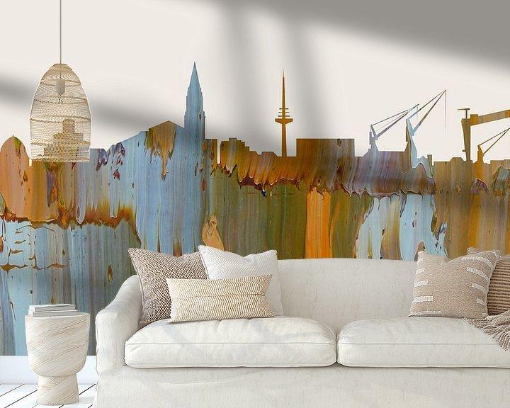 Sfeerimpressie behang: Kiel in a nutshell van Harry Hadders