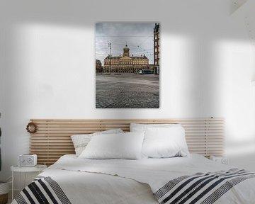 Damm - Königlicher Palast, Amsterdam von Lorena Cirstea