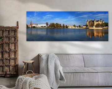 Schwerin Skyline von Frank Herrmann