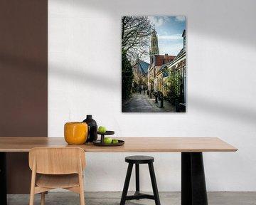Straatje in Haarlem van nol ploegmakers