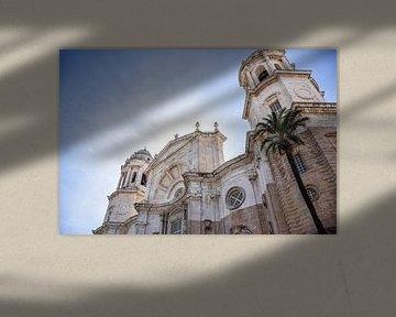 Die Kathedrale in Cadíz, Spanien von Maartje Abrahams