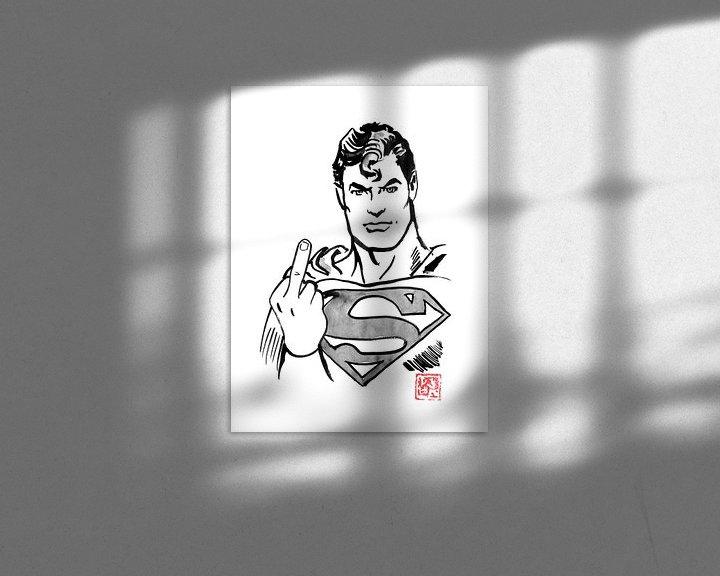 Beispiel: Supermann - nicht wirklich glücklich von Péchane Sumie