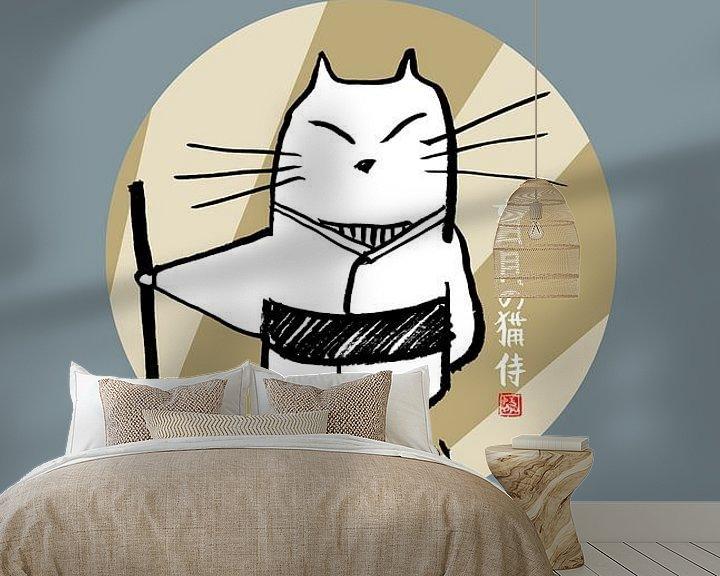 Beispiel fototapete: momoneko japan von Péchane Sumie