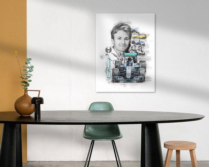Beispiel: Nico Rosberg von Theodor Decker
