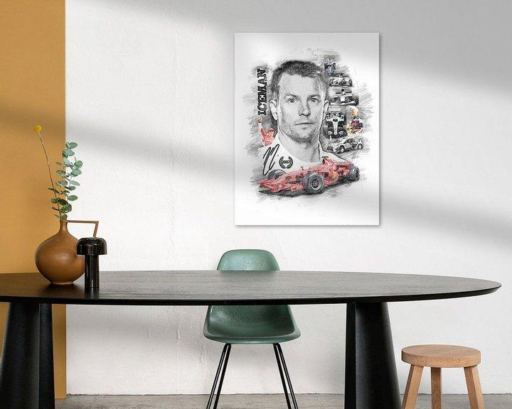 Beispiel: Kimi Räikkönen von Theodor Decker